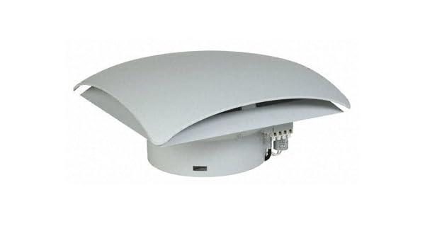 Stego 01861.0-00 Modelo RFP 018 Ventilador de Techo, 500m³/h Caudal Libre de Aire de Refrigeración, 64 W, 230 VAC, 50 Hz, Gris Claro: Amazon.es: Industria, empresas y ciencia