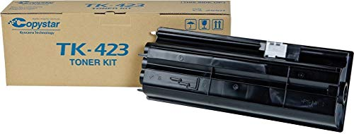 (Kyocera 1T02FT0CS0 Model TK-423 Black Toner Cartridge For use with Kyocera/Copystar CS-2550 and KM-2550 Digital Multifunctionals, Up to 15000 Pages Yield at 5% Average Coverage)
