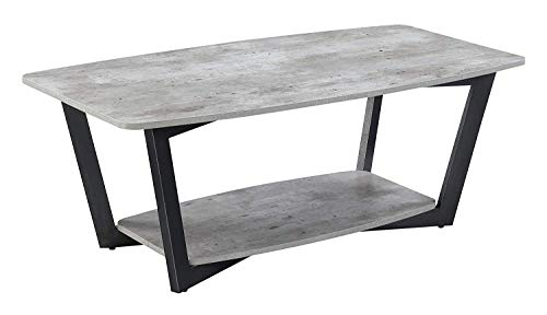 Convenience Concepts Graystone Coffee Table, Faux Birch (High Inches 20 Table Coffee)
