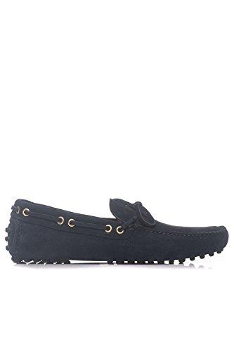 Pago De Descuento Con Paypal Barato Mejor Tienda A Comprar Car Shoe Driving Shoes Scamosciato 8 da Uomo Blu Nu0OeVJlA