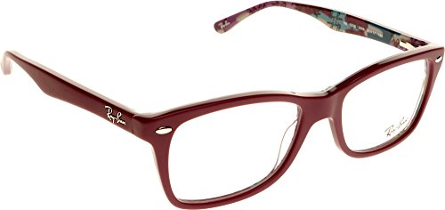 Ray Ban Rx 5228 Top Mat Violet On Tex Camuflag Frame/Demo Lens 53Mm Non-Polarized - Rx Ray Ban 5228