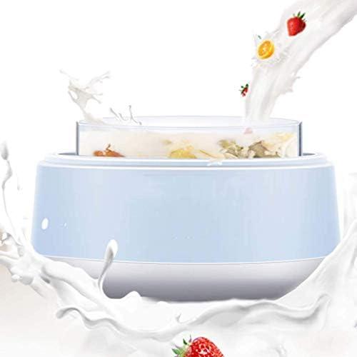 SJYDQ Inizio del Yogurt Che Fa Macchina -Automatic Yogurt Maker, elettrodomestici Automatico Yogurt Yogurt Maker Acciaio Inossidabile Interno del Contenitore, Yogurt Maker