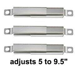 Wondjiont 4-Pack Stainless Steel Heat Plates & Burners & 3-Pack Cross-Overs & 1-Pack Electrodes, Replacement for Charbroil 463240015, 463240115, 463343015, 463344015 Gas Grills by Wondjiont (Image #4)