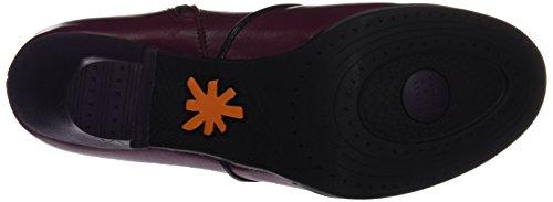 Star cerise Cerise 945 Women's Purple Ankle Boots Black Harlem Art pYqwan