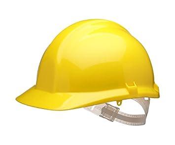 1125 - Casco de seguridad, color amarillo: Amazon.es: Industria, empresas y ciencia
