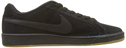 NIKE Sneaker Black Schwarz 008 Court Suede Brown Gum Herren Light Royale SWAIqSr