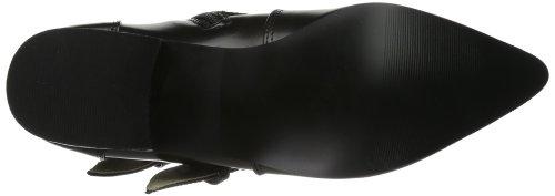 Cowboy Boots Black Brogue Black Men's 06 Demonia w0t1c