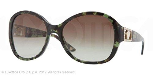 Versace VE4241B Sunglasses-993/8E Green Havana (Green Gradient - Sunglasses Versace 2013