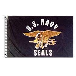 Navy Seals Flag (3 ft. x 5 ft.)