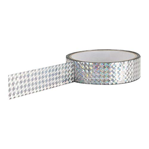 0.45 Inch x 16 Feet Sparkle Glitter and Holographic Duct Tape Sparkle Heavy-Duty DIY Tape