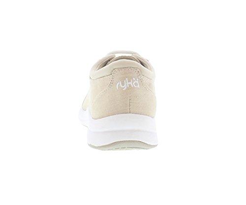 Canvas B Walking Womens Medium 5 Casual M Shoes 5 Taupe Tie Freelance Ryka qxtaw4Pa