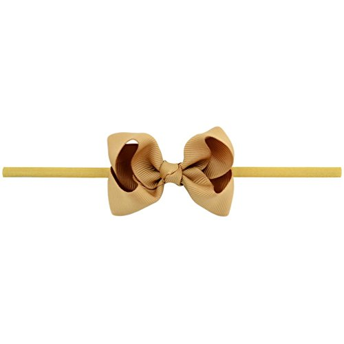 inSowni 20pcs 3'' Bow Headbands Grosgrain Ribbon for Baby Girl Toddler Newborn Kids (20PCS Bow S2) by inSowni (Image #5)