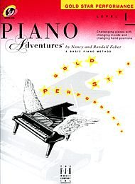 (Faber Music Piano Adventures Book And CD Gold Star Performance Level 1 - Faber Piano)