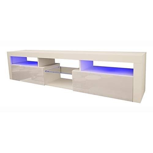 Meble Furniture & Rugs Bari 200 Wall Mounted Floating 79