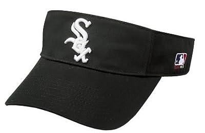 White Sox Officially Licensed MLB Adjustable Velcro Adult Visor