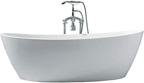 DKB Zarya UB118-7034 Freestanding Acrylic Bathtub 70 x 34 Inches