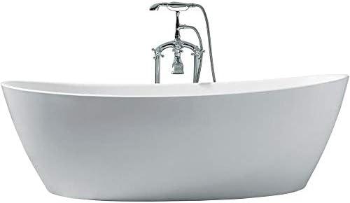 DKB Zarya UB118-7034 Freestanding Acrylic Bathtub 70″ x 34″ Inche