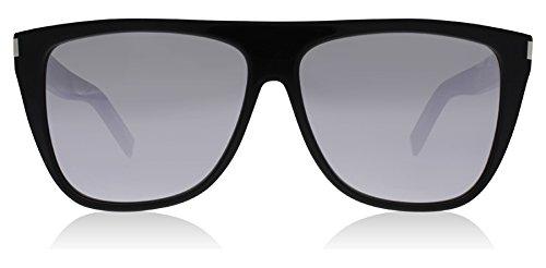 Saint Laurent SL 1 008 Black SL 1 Square Sunglasses Lens Category 3 Lens - Sunglasses Sl1 Laurent Saint