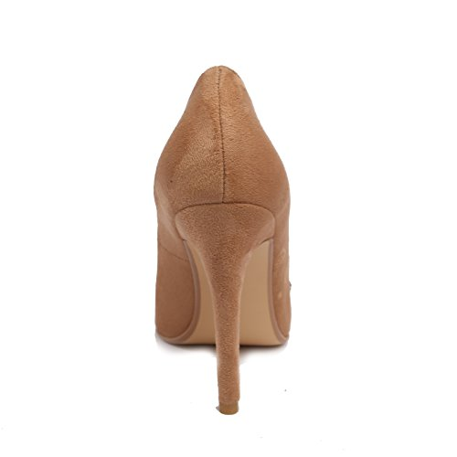 Dongya 3 Colors Womens 100mm Heel Fashion Pump Shoes QNSfQ