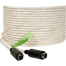 Plenum Visca Camera Control Cable 8-Pin Male to 8-Pin Male 100 Foot-by-TecNec