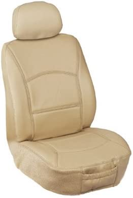 Premier Tweed Fabric Elegant E F15116 Custom Made Bucket Seat Covers Tan