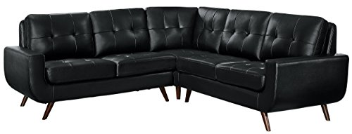 Homelegance Deryn Mid-Century Modern Sectional Sofa with ...