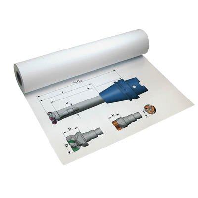 InkJet traçage à jet mat 180 g/m² largeur de 91,4 cm, longueur : 30,0 m Premium Hausmarke