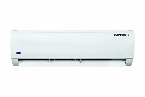 Carrier 1 Ton 3 Star Inverter Split Ac ( Copper, 12K Durafresh, White).