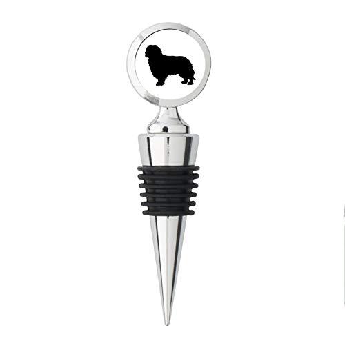 Cavalier King Charles Spaniel Dog Breed Metal Steel Bottle Stopper -