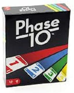 Packaging may vary Mattel Games FPW38/Phase 10/Card Game