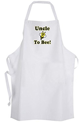 Uncle To Bee! Adult Size Apron - Cute Love Funny Humor New Baby Wedding by Aprons365