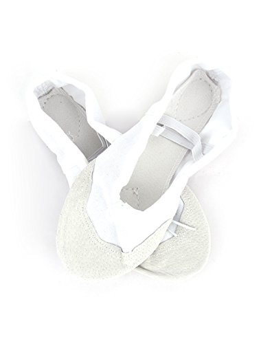uxcell Gymnastic Training Dancing Bodybuilding Elastic Band Flat Ballet Shoes Pair CGqltAXZ5