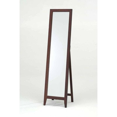 Mirror Stand Finish: Walnut - Dimensions: 16L x 15W x 59H in. Wood frame with wood rear stand Available in choice of finish - mirrors-bedroom-decor, bedroom-decor, bedroom - 31t1QSxHvsL. SS400  -
