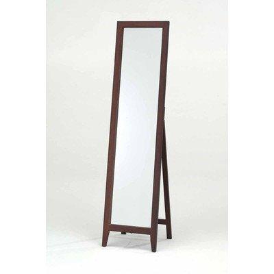 InRoom Designs Mirror Stand Finish: Walnut -  - mirrors-bedroom-decor, bedroom-decor, bedroom - 31t1QSxHvsL. SS400  -