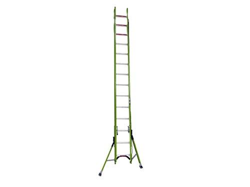Little Giant Ladder Systems 17828 HyperLite w/Sumo 28' Type IA Fiberglass - Fiberglass Feet Ladders 28
