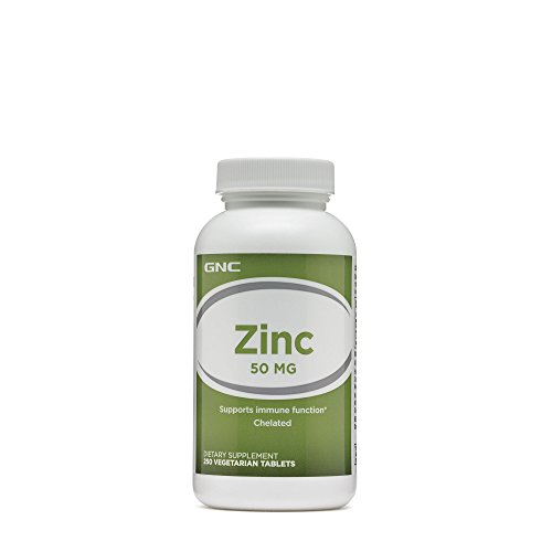 GNC Zinc 50 MG 250 Vegetarian Tablets