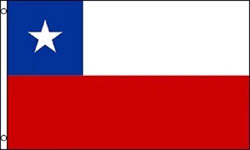 Chile Flag 3ftx5ft Polyester - En Chile