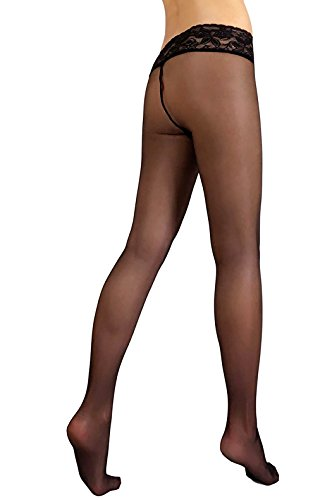 Hipsters Pantyhose Tights Nylon Hosiery Silicone Band Waist