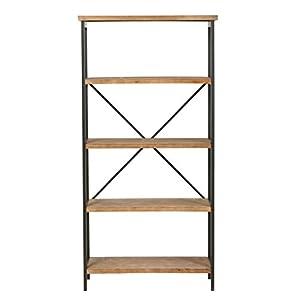 Christopher Knight Home Winsten Fir Wood Display Shelf, Antique