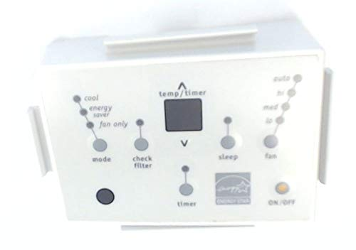 5304465424 Room Air Conditioner Control Panel Genuine Original Equipment Manufacturer (OEM) Part