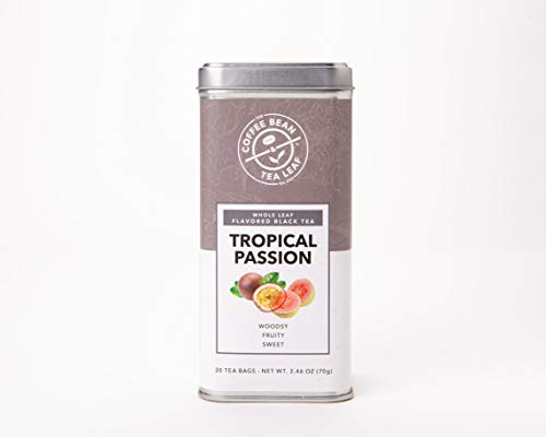 (The Coffee Bean & Tea Leaf 4 Pack Tea, Tropical Passion, 20 Count)
