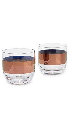 Copper Tom Mouth - Tom Dixon Men's Tank Whisky Glasses, Copper, One Size