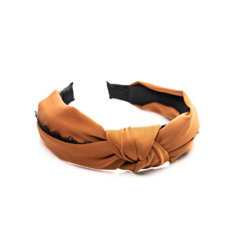 Honey Minx Women's Ophelia Headband One Size Amber & Lace