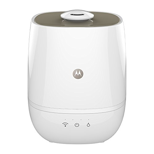 Price comparison product image Motorola Smart Nursery Humidifier + – Connected Humidifier with Air and Water Purification
