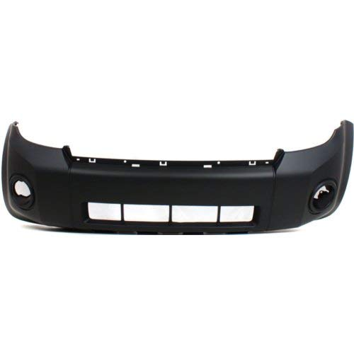 Front Bumper Cover Compatible with FORD ESCAPE 2008-2012 Primed Thermoplastic ()