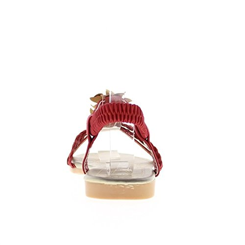 Chaussmoi - Chaussures Synthétiques Pour Les Femmes, Orange, Taille 39
