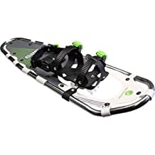 Faber Snow Mountain Aluminum Snowshoes (8 in x 21 in) - STRONG and LIGHTWEIGHT Aluminum Frame - COLD RESISTANT with IMPROVED Traction - NON SLIP, SOFT and ADJUSTABLE