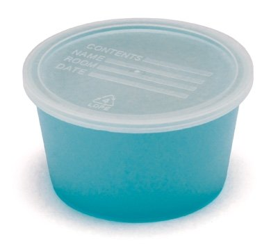 Graham-Field 5706 Denture Cup with Clear Lid (Pack of 250)