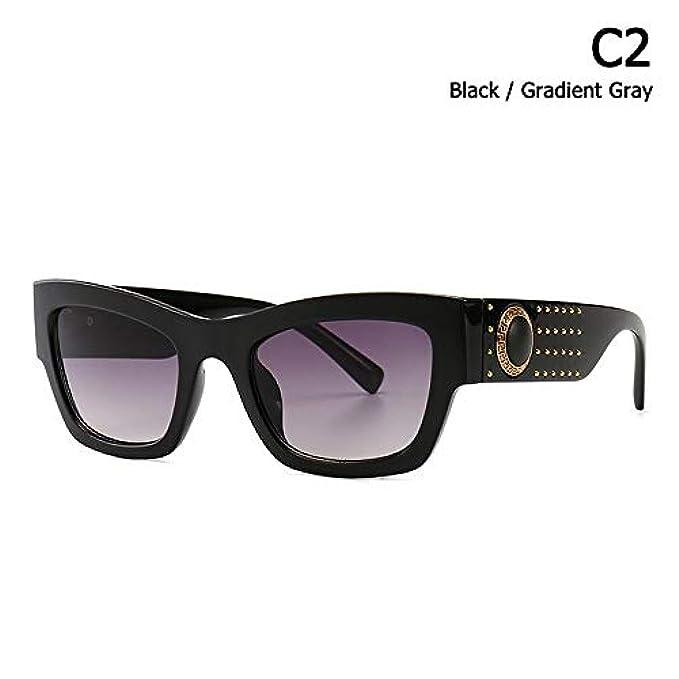 Brand Gradiente Vintage Occhiali Zhouyf Donna Uomo Moda Oculos Quadrato De B Rivetti Sol Stile Cool Sole Da Design