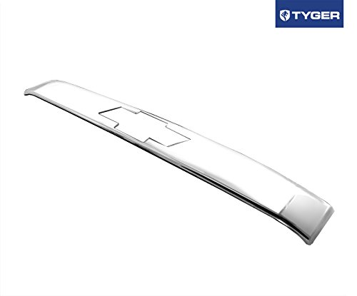 Logo Door Handle Covers (Fit 07-14 Chevy Tahoe Chrome ABS Rear Door Handle Cover 1Pc Upper With Logo Cutout)